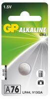 Alkalická knoflíková baterie GP A76F (LR44), 1041007611