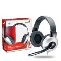 Genius headset - HS-05A (stereo sluchátka + mikrofon), svinovací kabel 31710011100