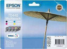 EPSON cartridge T0445 (black/cyan/magenta/yellow) mulitpack (slunečník) C13T04454010