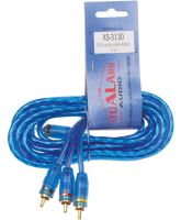 2 RCA audio kabel GOOBAY, s ovládáním 3m