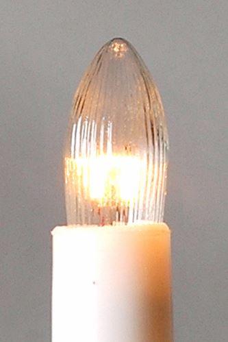 Žárovka pro svícen 34V/3W