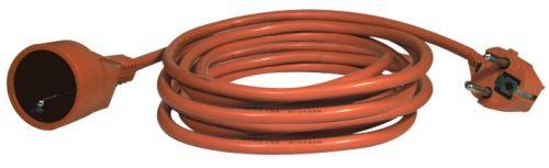 Prodlužovací kabel – spojka, 20m, 3× 1,5mm, oranžový, 1901012000
