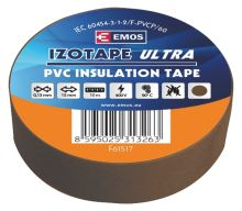 Izolační páska PVC 15mm / 10m hnědá, 2001151070