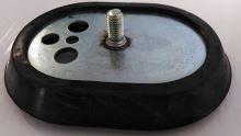 Příruba oválná + těsnění příruby bojler krátký šroub
