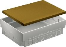 SCHN OPTILINE KRABICE PODLAH PLAST 75-95X183X222MM ISM50330