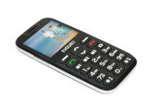 EVOLVEO EasyPhone XD, mobilní telefon pro seniory s nabíjecím stojánkem, černý, EP-600-XDB