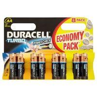 Baterie Duracell Turbo AA 8ks