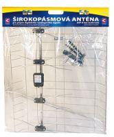 Venkovní anténa EMOS EM-008, 0–80 km DVB-T2, 2703001000