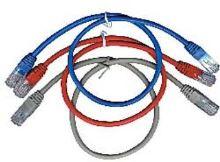 Kabel C-TECH patchcord Cat5e, UTP, šedý, 30m KABCT216A