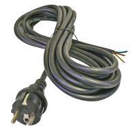 Flexo šňůra gumová 3× 2,5mm2, 5m, černá, 2425450230
