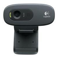 Logitech webkamera HD Webcam C270, černá, 960-001063