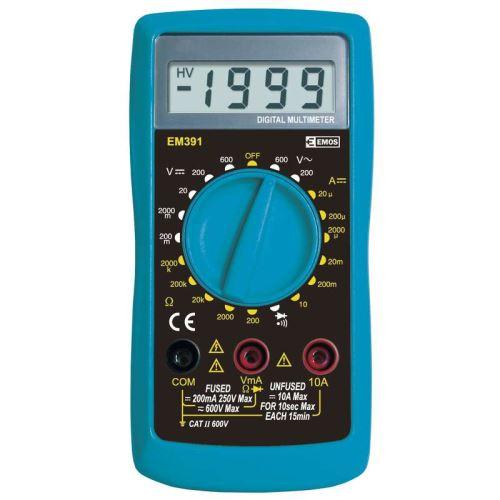Měřící přístroj - multimetr EM391, 2202007000