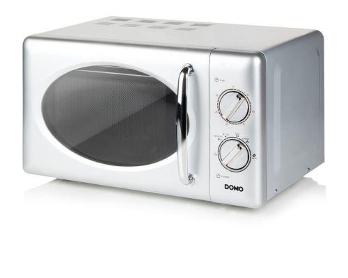 Mikrovlnná trouba retro šedá - DOMO DO3020, Výkon mikrovln: 700 W