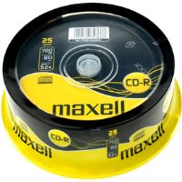 CD-R 700MB 52x 25SP 628522 MAXELL