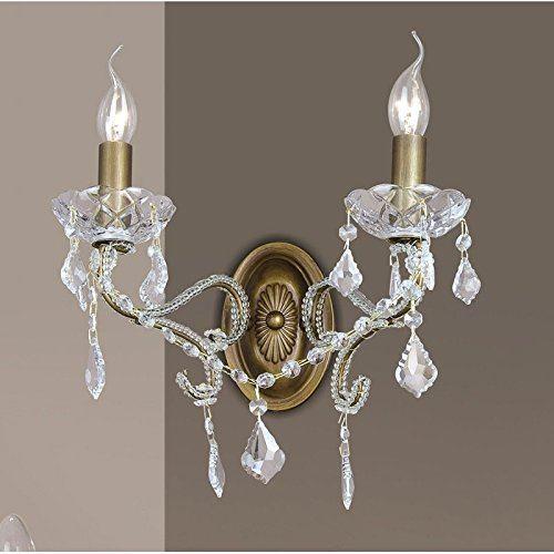 Moderní Nástěnné svítidlo 2 x 40 W / E14 / 2 W Italux LAGUNA A, 9133