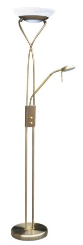 Rabalux 4078 Gamma, floor lampa with reading arm, halogen, with dimmer switch, H178cm