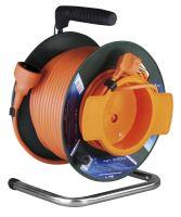 PVC prodlužovací kabel na bubnu - spojka 50m, 1908015001