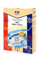 SÁČKY E040.1/micro (nahrada UNI-BAG) (5+1) K&M
