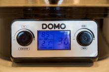 Zavařovací hrnec nerezový s LCD - DOMO DO42325PC, plnoautomat, 27 l, 2000 W
