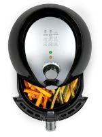 Horkovzdušná fritéza 2,6 l - DOMO DO510FR, Objem 2,6 l, Příkon: 1350 W, Vyjímatelný fritovací koš s nádobou