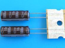 1000uF/10V - 105°C Nippon  KY   kondenzátor elektrolytický, low ESR, long life