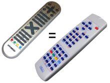 IRC81582 náhrada za RC1055, RC1050, RC1060, RC1070 náhradní dálkový ovladač 1:1 CLASSIC