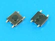 Mikrotlačítko SMD 4,5 x 4,5mm - výška 1,5mm