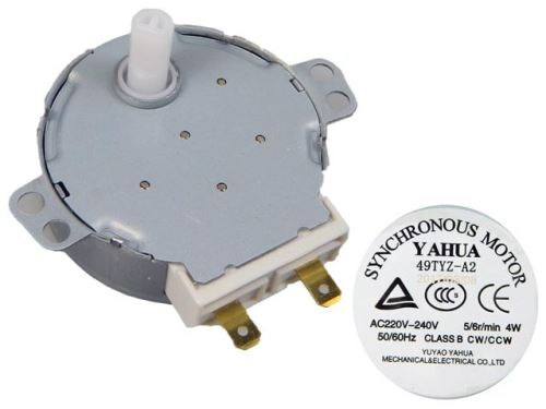 Motorek pro otáčení talíře do mikrovlnné trouby TYJ50-8A7F 104213 GORENJE