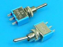 Přepínač páčkový - 3 polohy ON-OFF-ON    TSX2