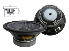 Reproduktor SAL SBX1620/BK 8ohm/80W - basový / středobasový reproduktor