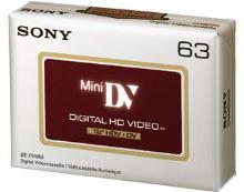 SONY Mini DV kazeta pro HDV kamery, 63 minut, DVM63HDV