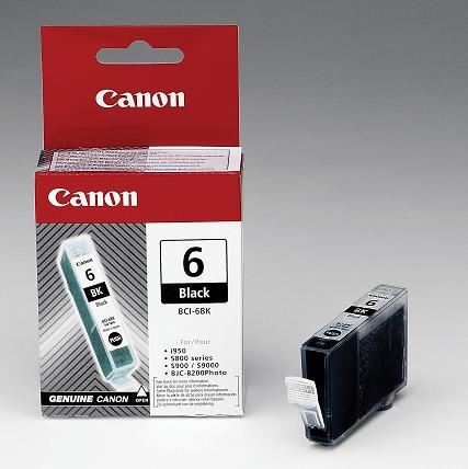 Canon cartridge BCI-6 Bk Black (BCI6BK), 4705A002