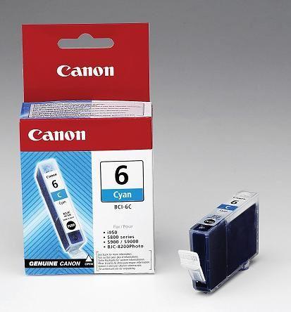 Canon cartridge BCI-6C Cyan (BCI6C)