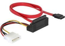 Kabel HDD SATA All-in-One (50 cm) kolmý dolů