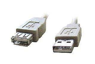 Kabel GEMBIRD USB A-A, 2m, USB 2.0, prodlužovací, HQ, KAB056C23