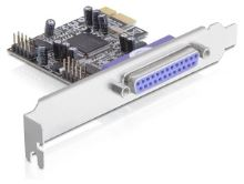 Delock adaptér PCI Express x1 2xsér. +1xpar. port, 16C550 UARTkompat., 89129