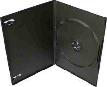 COVER IT Krabička na 1x DVD - černá - slim 7mm, 27082