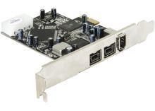 DeLock PCI Express x1 FW A+B 2+1 Port , 89153