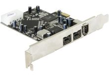 DeLock PCI Express x1 FW A+B 2+1 Port