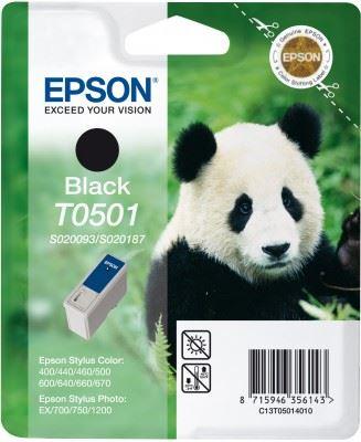 EPSON cartridge T0501 black (panda), C13T05014010