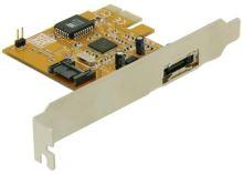 Delock PCIe řadič eSATA dvoukanálový interní/externí RAID, 70157