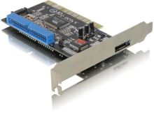 DeLock PCI řadič 1xeSATA ext.,1xSATA/IDE int. RAID, 70156
