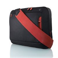 Belkin Neoprene Messenger Bag for Notebook up to 17', černá/červená, F8N051eaBR