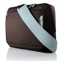 Belkin Neoprene Messenger Bag for Notebook up to 17', hnědá/modrá, F8N051eaRL