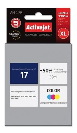 ActiveJet Ink cartridge HP 6625 Col ref. no17 - 30 ml     AH-625