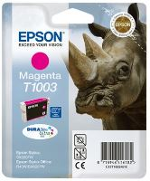 EPSON cartridge T1003 magenta (nosorožec)