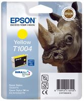 EPSON cartridge T1004 yellow (nosorožec), C13T10044010