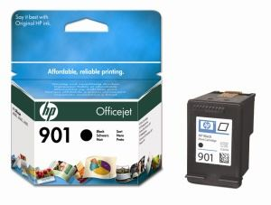 HP CC653AE Ink Cart No.901 pro OJ 4500, J4580, 4ml,  Black