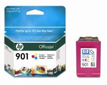 HP CC656AE Ink Cart No.901 pro OJ 4500, J4580, 9ml, Color CC656AE#UUQ