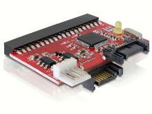 DeLock konvertor IDE 40pin na SATA nebo SATA na IDE 40 pin 61635